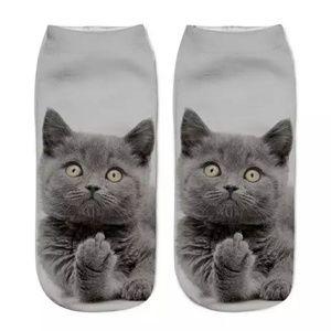 Accessories - 2 pair Hilarious Cat socks